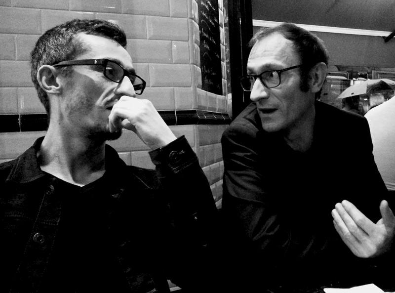 Raphaël Feuillatre et Cyrille Le Quellec